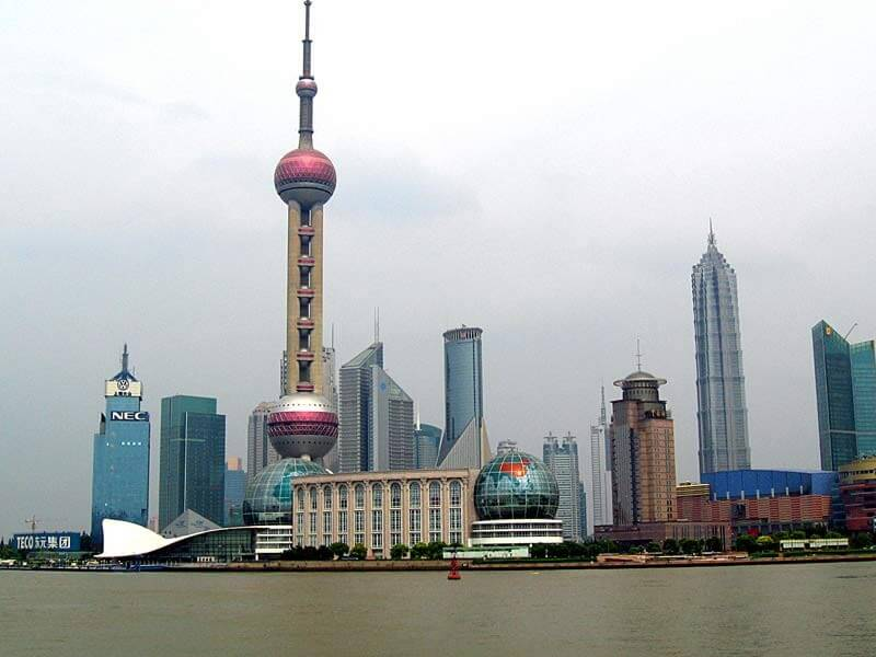 «Oriental Pearl Tower» - «Восточная жемчужина» (город Шанхай)
